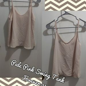 Pale Pink Swing Tank Top